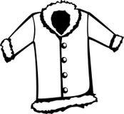 Abrigo de pieles ilustración del vector
