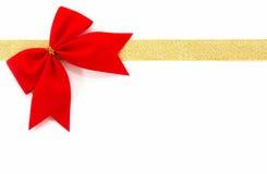 Abrigo de regalo del oro encendido Fotos de archivo libres de regalías