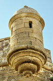 Abrigo en el castillo de San Sebastian fotos de archivo