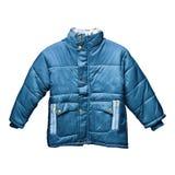 Abrigo esquimal azul de los niños imagen de archivo libre de regalías