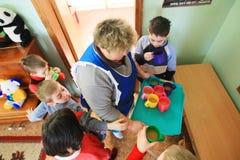 Abrigo para los menores de edad Foto de archivo libre de regalías