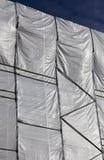 Abrigo plástico en un edificio Fotografía de archivo