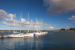 Abrigue a cena em Glowe, ilha de Ruegen, Alemanha Fotografia de Stock Royalty Free