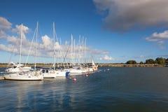 Abrigue a cena em Glowe, ilha de Ruegen, Alemanha Imagem de Stock Royalty Free