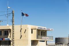 Abrigue la oficina principal del ` s, Sete, Francia imagenes de archivo
