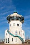 Abrigue la torre de control de la oficina en Harlingen, Países Bajos Fotos de archivo