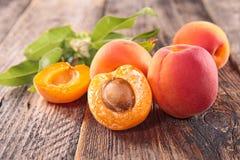 abrikoos Royalty-vrije Stock Foto's