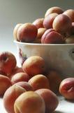Abrikoos in de keuken Stock Fotografie