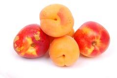 Abrikozen en perziken Stock Foto
