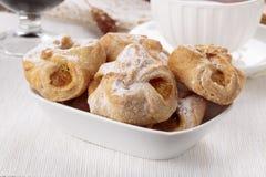 Abrikozendeense gebakjes royalty-vrije stock foto's