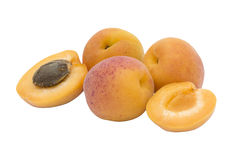 Abrikozenfruit Royalty-vrije Stock Afbeelding