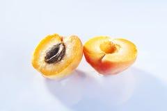 Abrikozenvruchten Stock Foto's