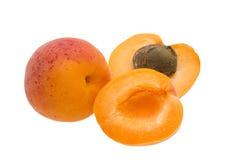 Abrikozenvruchten Stock Afbeelding