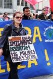 25 Abril -移民在葡萄牙 免版税库存图片