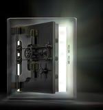 Abrindo o vault Foto de Stock