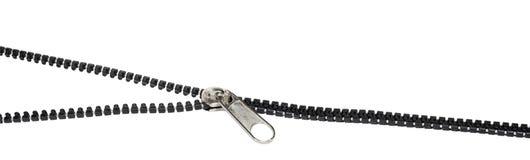 Abrir-feche o zipper Imagens de Stock Royalty Free
