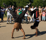 abrobatic skateboradåkare Royaltyfri Bild