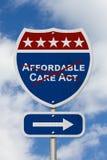 Abrogando y substituyendo seguro asequible de la atención sanitaria del acto del cuidado fotos de archivo