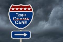 Abrogando y substituyendo seguro de la atención sanitaria del cuidado de Obama imagen de archivo