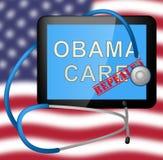 Abrogation d'Obamacare ou remplacer la réforme américaine d'acte de soins de santé - illustration 3d illustration de vecteur