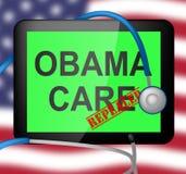 Abrogation d'Obamacare ou remplacer la réforme américaine d'acte de soins de santé - illustration 3d illustration stock