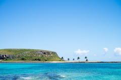 Abrolhos群岛,在巴伊亚南部,巴西 免版税库存图片