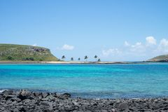 Abrolhos群岛,在巴伊亚南部,巴西 免版税库存照片