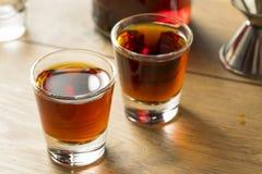 Abrunheiro vermelho Gin Liqueur imagem de stock royalty free