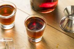 Abrunheiro vermelho Gin Liqueur imagem de stock