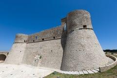 abruzzi城堡chieti意大利ortona 图库摄影