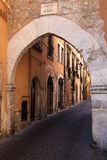 Abruzzo. Along the streets of Tagliacozzo Royalty Free Stock Images