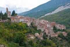Abruzzo anversadegli abruzzi Royaltyfri Fotografi