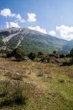 Abruzzo bergsikt Royaltyfri Foto