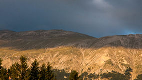 Abruzzo bergsikt Royaltyfria Bilder