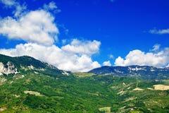 Abruzzo bygdundecies Arkivfoton