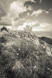 Abruzzo castle Royalty Free Stock Photography