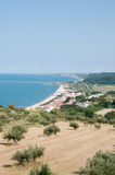 Abruzzo Coast Royalty Free Stock Photography