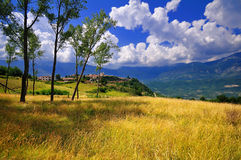 Abruzzo Countryside Stock Photos