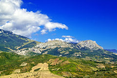 Abruzzo countryside nonies Royalty Free Stock Image