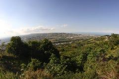 Abruzzo kullelandskap Royaltyfri Bild