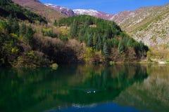 Abruzzo lake of Saint Domenico Stock Photo
