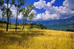 Abruzzo-Landschaft Stockfotos