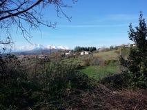 Abruzzo-Landschaft Lizenzfreie Stockfotografie