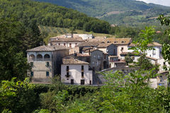 Abruzzo medieval village Royalty Free Stock Image