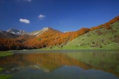 Abruzzo national park. Vallefiorita mainarde stock images