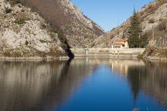 Abruzzo sjö Royaltyfria Bilder