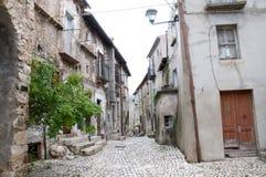 Abruzzo Town Scenics Stock Image