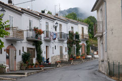 Abruzzo Town Scenics Stock Photography