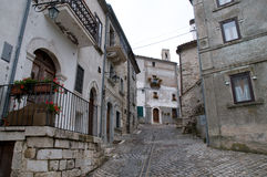 Abruzzo Town Scenics Royalty Free Stock Images