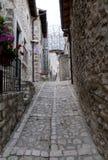 Abruzzo Town Scenics - Santo Di Sessanio Stock Photography